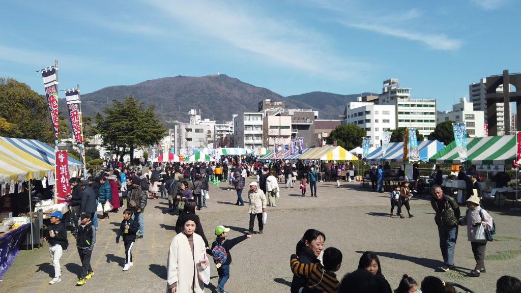 呉水産祭り